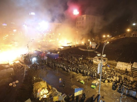 Ukraine protests: Tottenham fans warned to be vigilant travelling to Dnipro for Europa League clash
