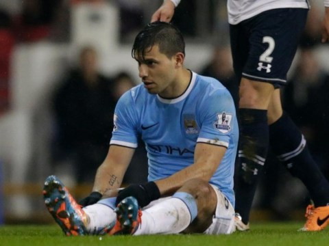 Manchester City legend Dennis Tueart says starting Sergio Aguero at Wembley would be a huge gamble