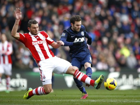 Juan Mata, Wayne Rooney and Robin van Persie fail to inspire Manchester United as Stoke stun Reds