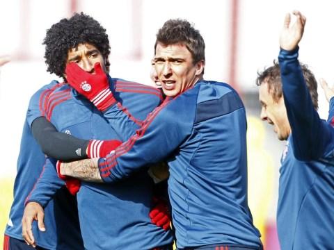 Video: Bayern Munich train at QPR  ahead of Arsenal Champions League tie