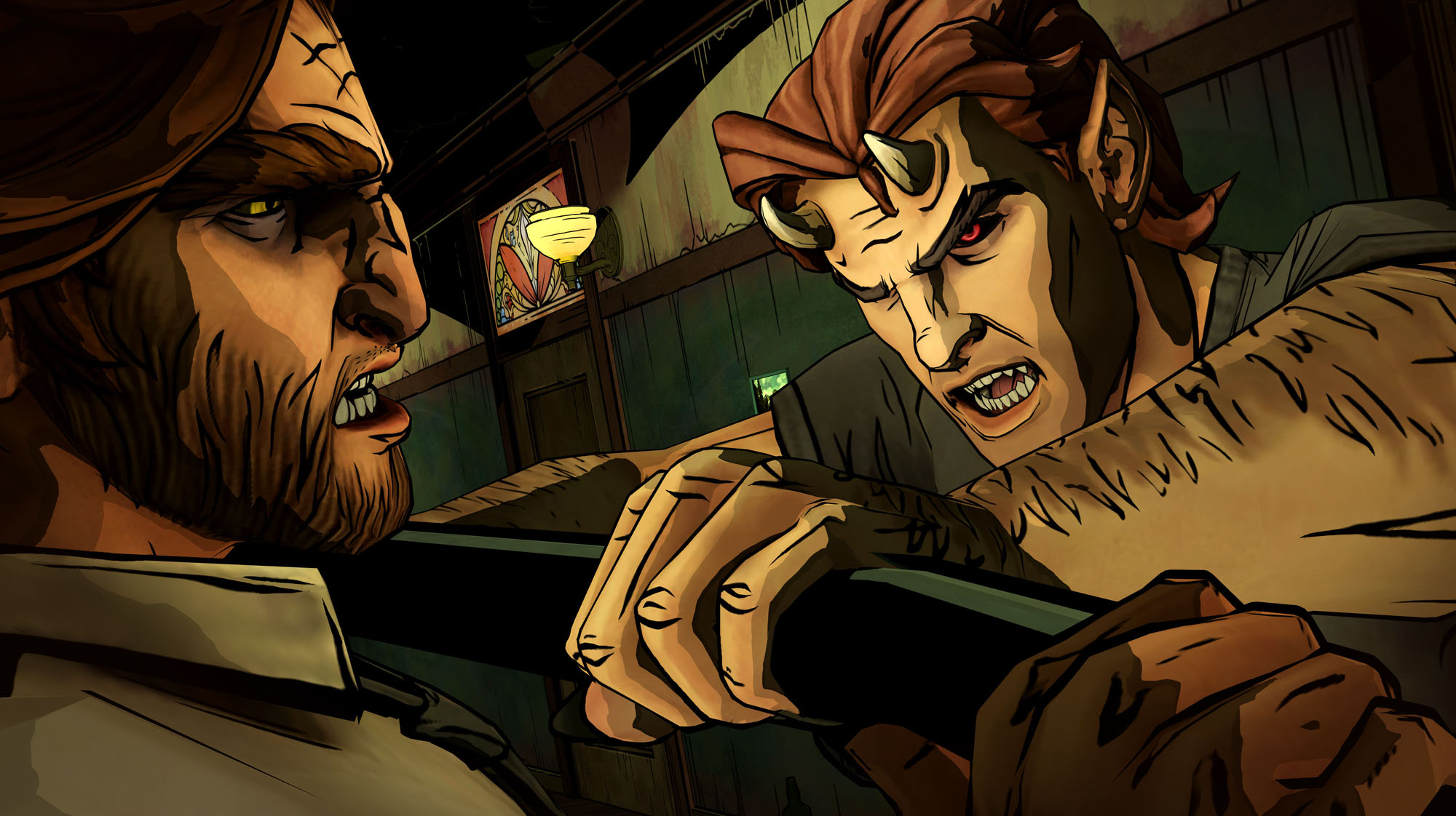 The Wolf Among Us: Episode 2 (360) - a sheriff's lot is not a happy one