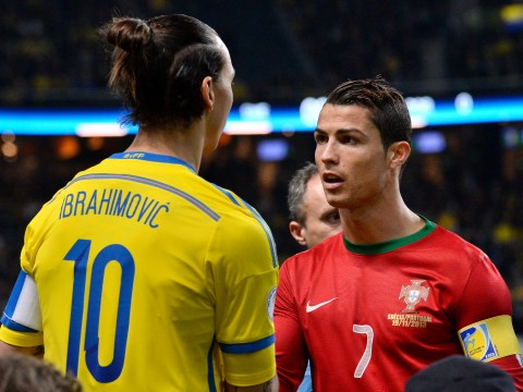 Cristiano Ronaldo trolls Zlatan Ibrahimovic on Twitter after receiving birthday gift