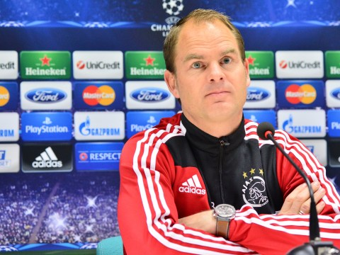Frank de Boer: I want to be manager of either Liverpool or Tottenham