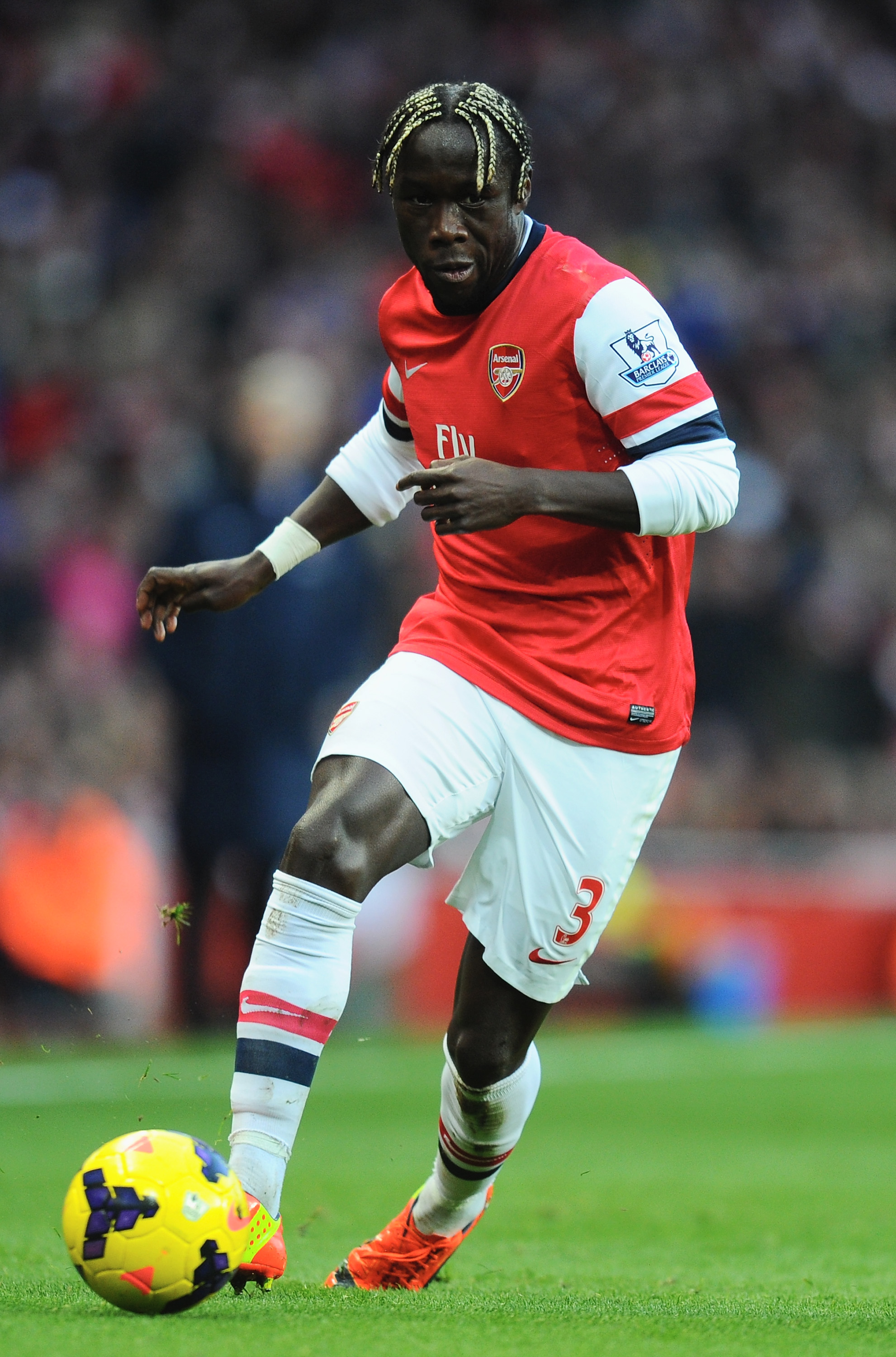 Arsenal defender Bacary Sagna holds transfer talks with Inter Milan