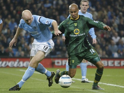 Danny Mills it out for order for his Norwich City attack on Match of the Day