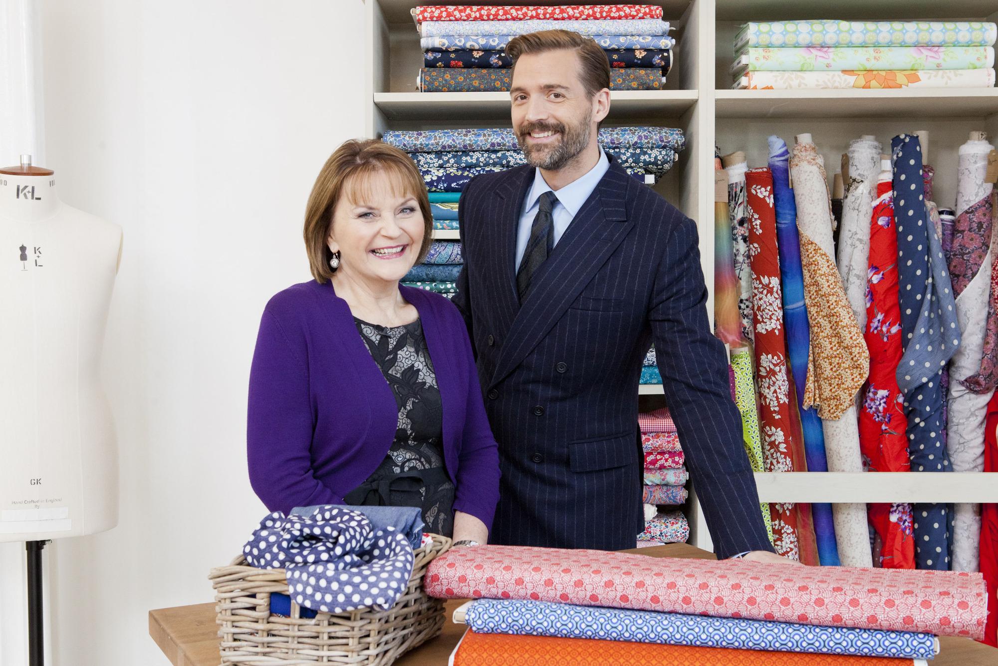 The Great British Sewing Bee 2014: May Martin, Patrick Grant