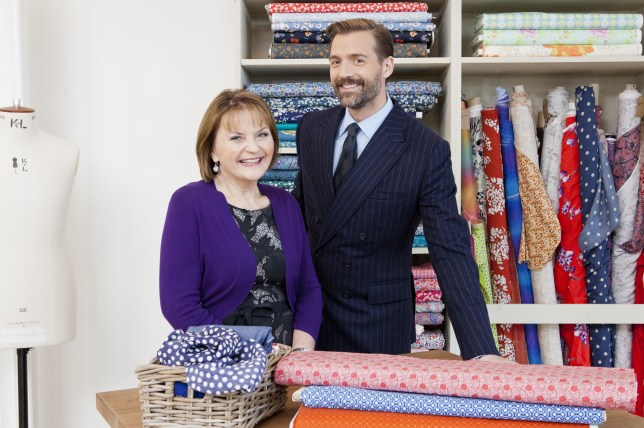 The Great British Sewing Bee 2014: May Martin, Patrick Grant