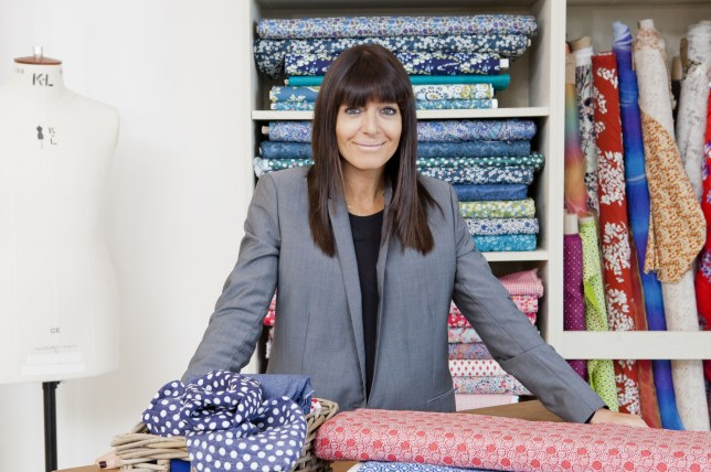 The Great British Sewing Bee 2014: Claudia Winkleman