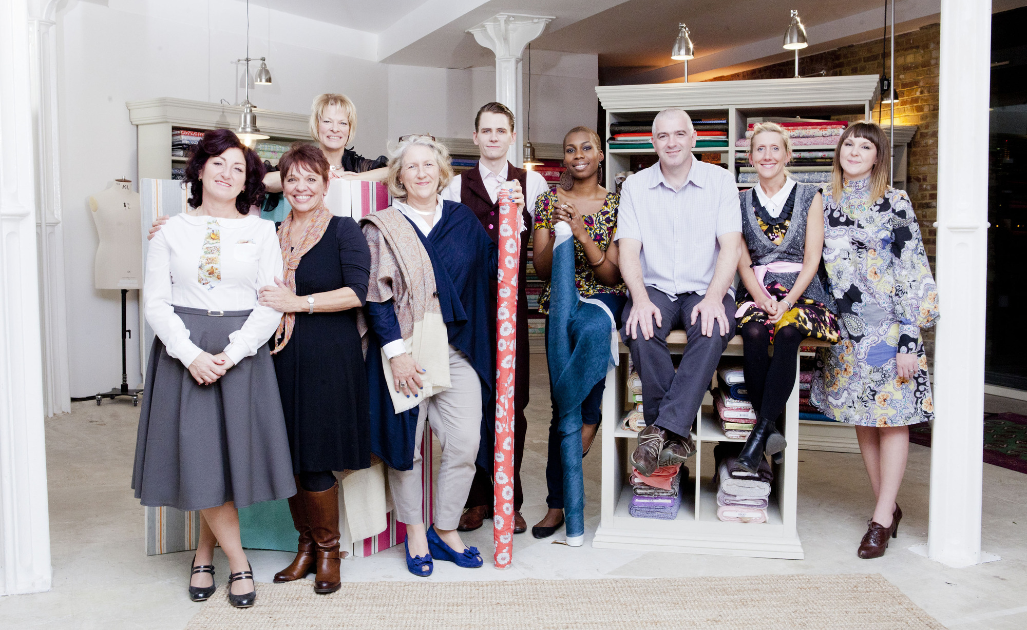The Great British Sewing Bee 2014: The contestants