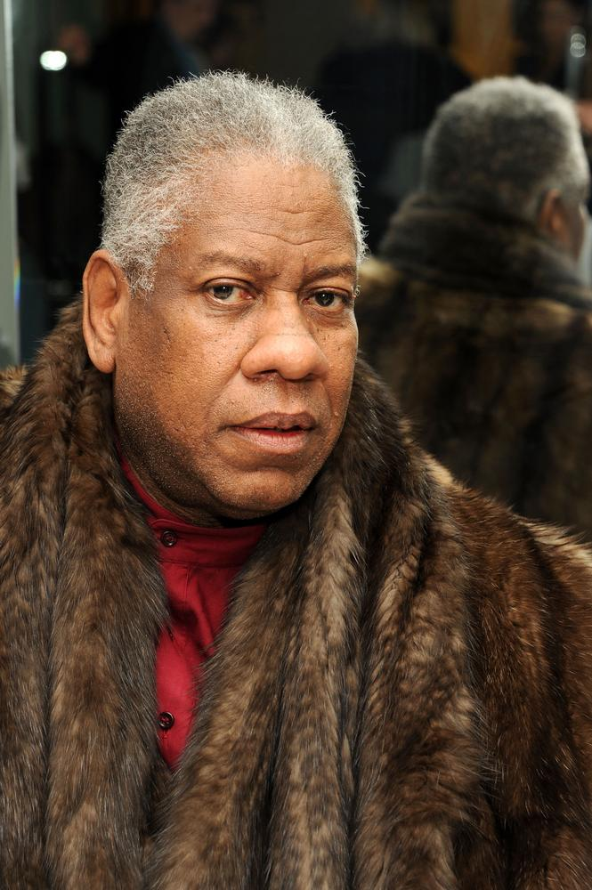 Who wouldn't want to be stuck in a lift with fashion drama queen, Andre Leon Talley? (Picture: Ben Gabbe/Getty Images)