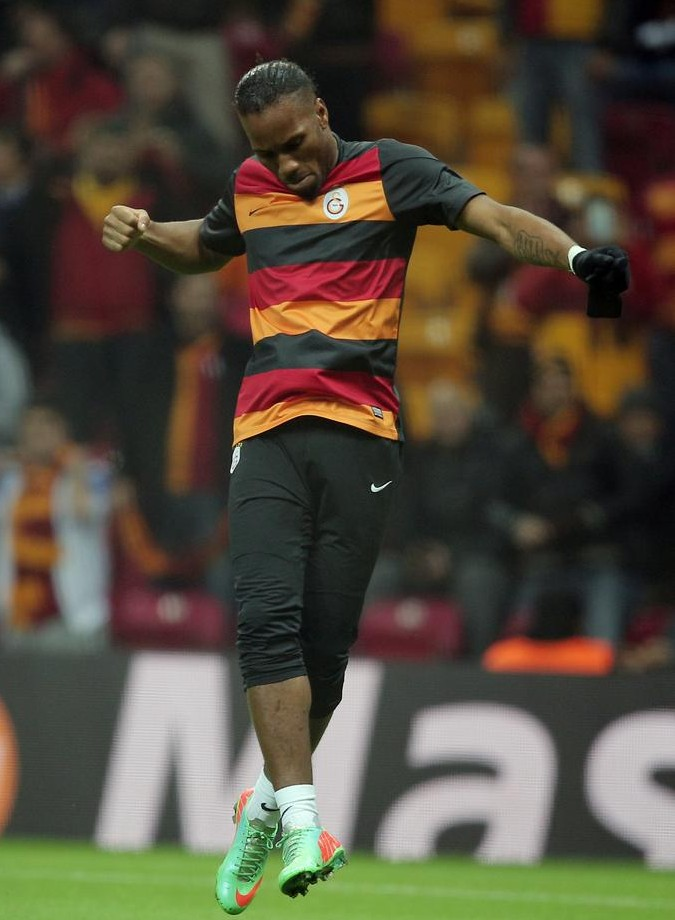 Marcel Desailly urges Didier Drogba to decline Chelsea coaching offer and carry on playing at Galatasaray