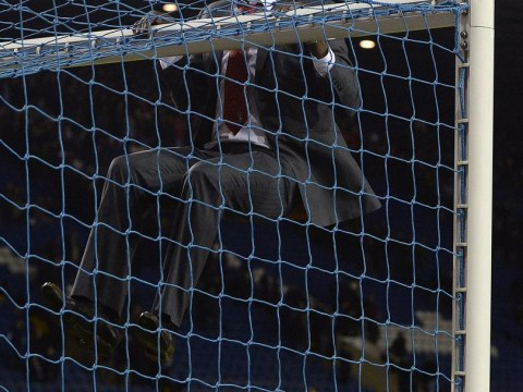 Crossbar-hanging Charlton boss Chris Powell shows the magic of the FA Cup is alive and well