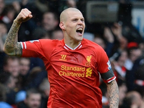 What a start! Martin Skrtel scores twice in 10 minutes for Liverpool against Arsenal