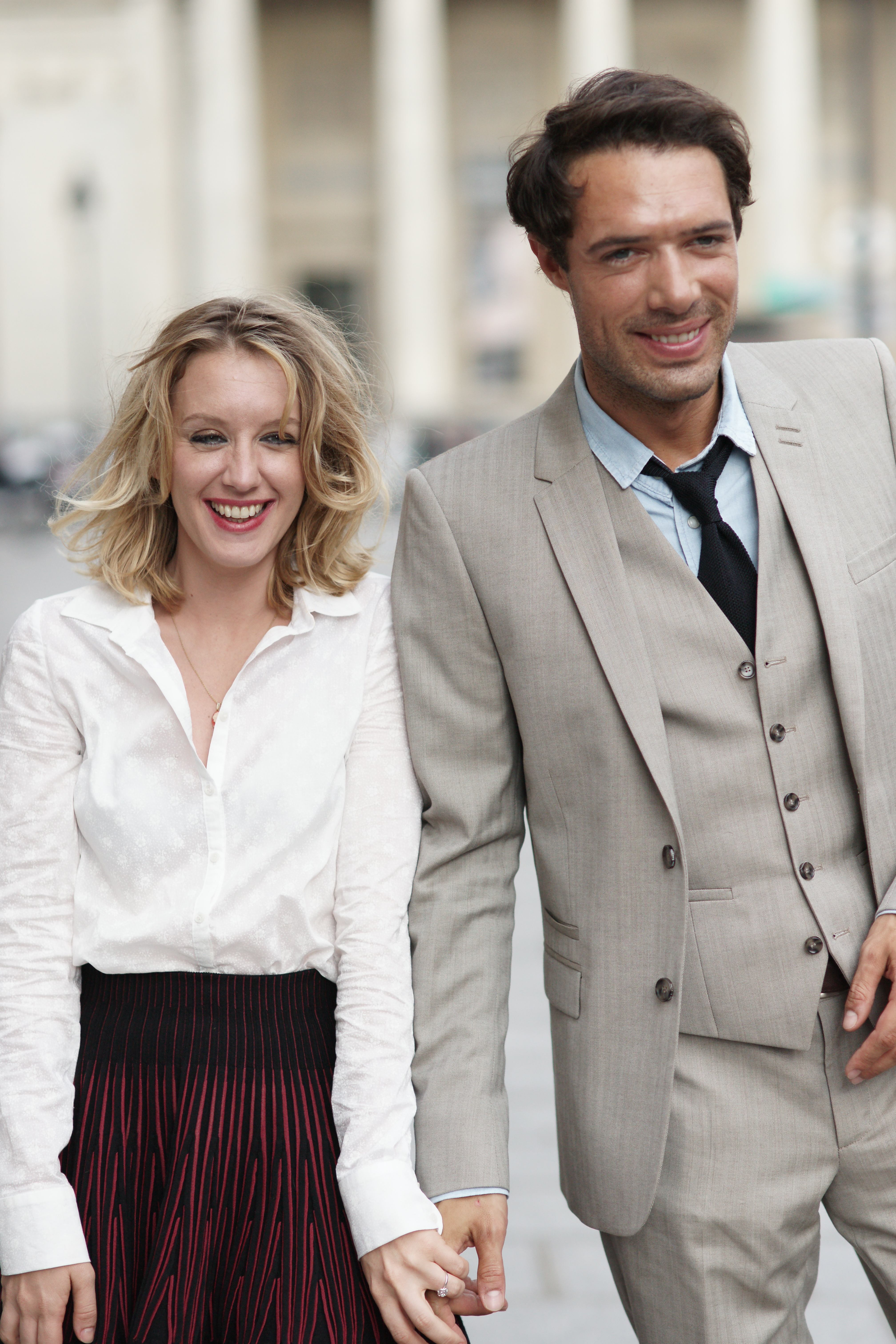 Ludivine Sagnier and Nicolas Bedos in Love Is In The Air (Picture: supplied)