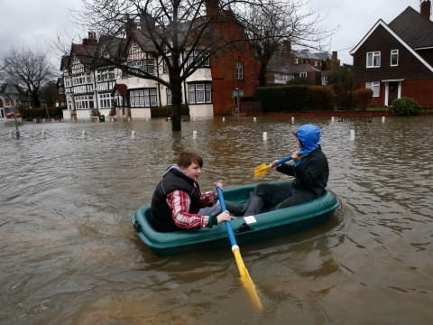 Gallery: Flood warnings continue as more rain is forecast across England
