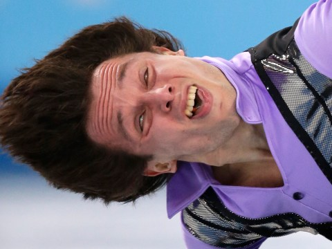 Gallery: Hilarious figure skating expressions at Sochi 2014 Winter Olympics