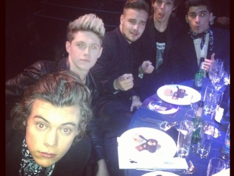 Gallery: One Direction, Ellie Goulding, Beyonce and Kate Moss share Brits 2014 pictures with fans on social media
