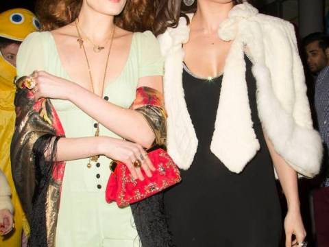 Florence Welch and Daisy Lowe throw back to the seventies for model's 25th birthday bash