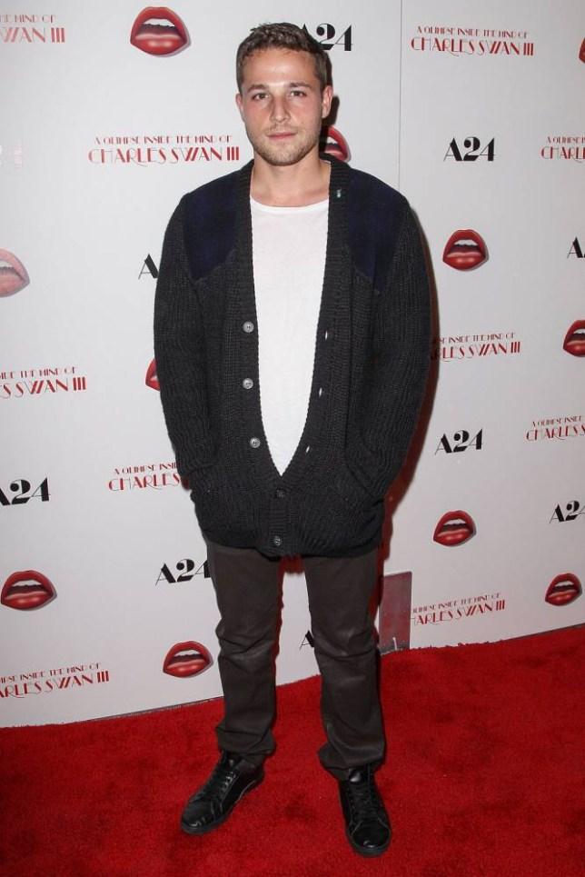 """HOLLYWOOD, CA - FEBRUARY 04:  Actor Shawn Pyfrom arrives at the premiere of A24's """"A Glimpse Inside The Mind of Charles Swan III"""" held at the ArcLight Hollywood on February 4, 2013 in Hollywood, California.  (Photo by Paul A. Hebert/Getty Images)"""