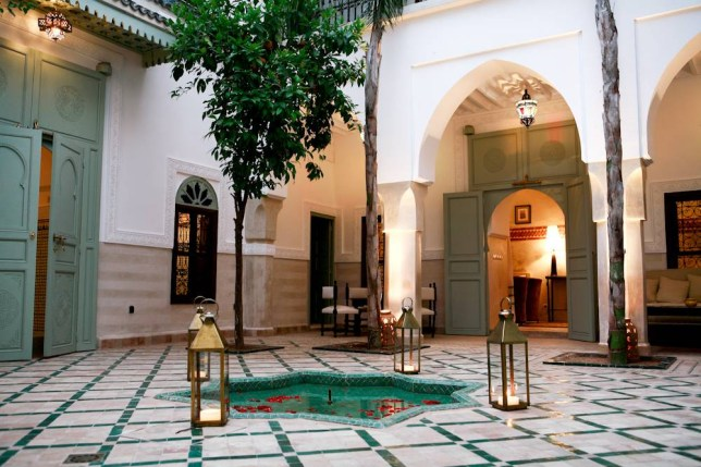 The Satvada Retreats yoga holiday accommodation in Marrakech (Picture: Rudy Ouazene)