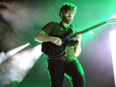 Foals singer Yannis Philippakis explains why life in his band is like walking a tightrope