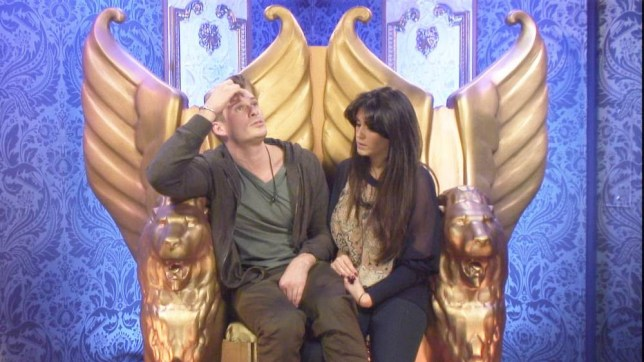 Lee Ryan and Casey Batchelor were discussed on MeeMee TV (Picture: Channel 5)