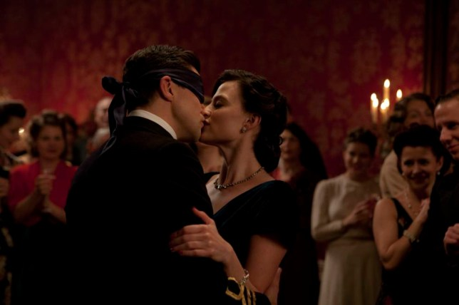 Dominic Cooper as Ian Fleming and Lara Pulver as Ann O'Neill in new series Fleming (Picture: Egon Endrenyi for Sky Atlantic/Ecosse Films)