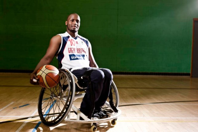 Abdi Jama took up wheelchair basketball after being paralysed in a childhood accident (Picture: supplied)