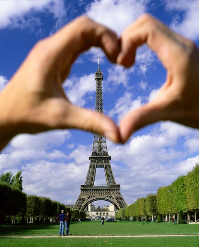 Is it possible to fall in love with an object? Well, Erika Eiffel married the Eiffel Tower in 2007... (Pictue: Alamy)