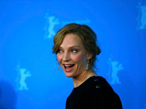 Gallery: Uma Thurman at Berlin photocall for Lars von Trier's Nymphomaniac