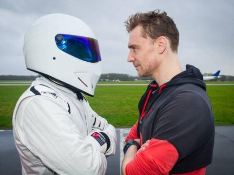 Tom Hiddleston battles The Stig on Top Gear