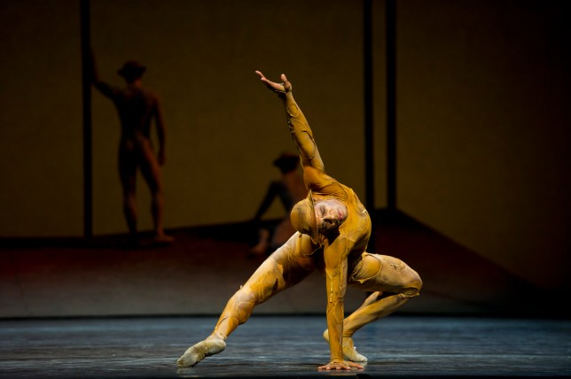Dance troop: Carlos Acosta in Kenneth MacMillan's World War I piece, Gloria (Picture: Bill Cooper)