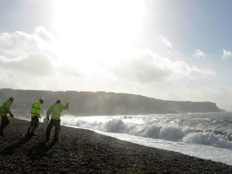 UK storms: World War II explosives washing up on beaches