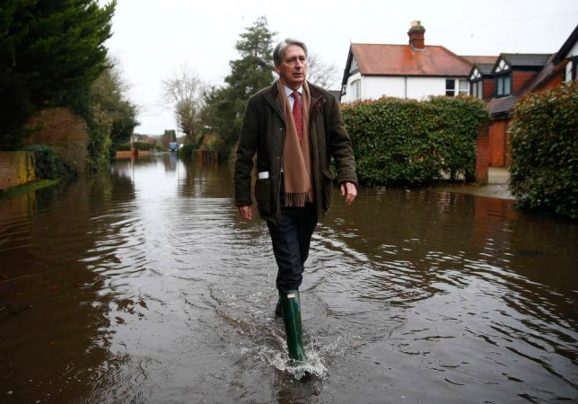 Ed Miliband and Philip Hammond get a roasting as they talk to angry victims of floods