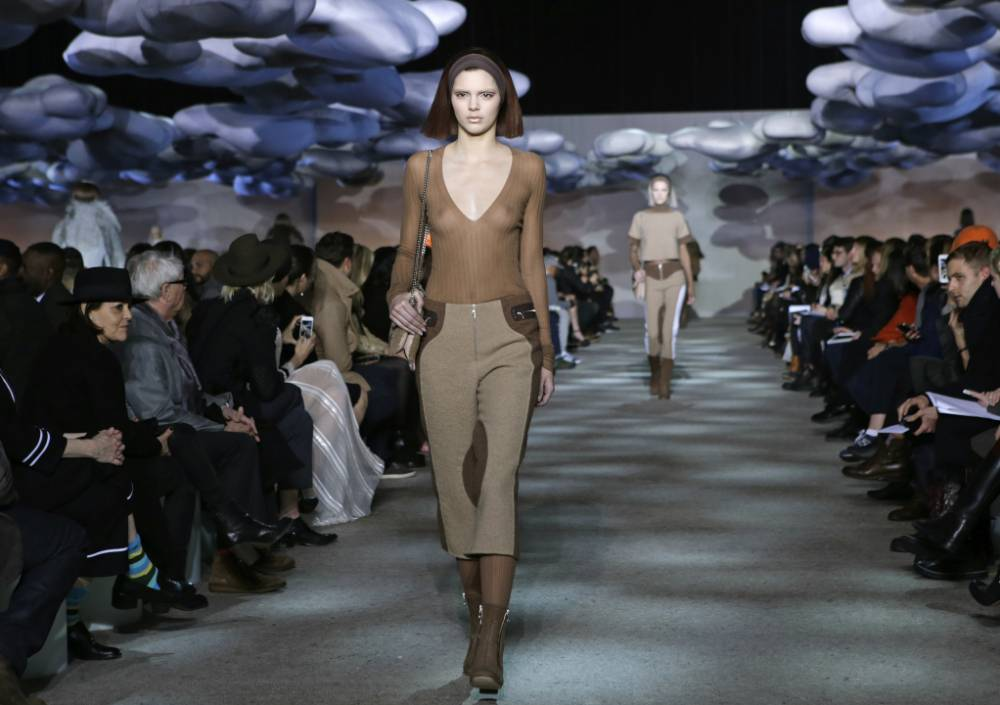 Harry Styles' girlfriend Kendall Jenner gets all risqué at New York Fashion Week