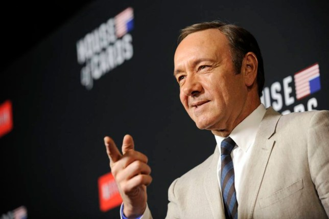 Kevin Spacey House of Cards season 2 premiere