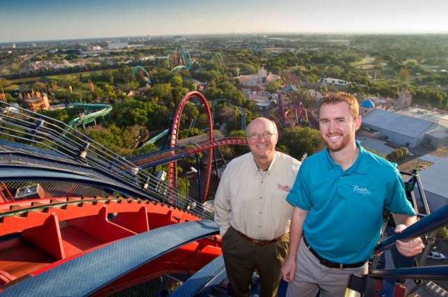 Busch Gardens Mark Rose Designing Roller Coasters Is A Hell Of A Ride Metro News