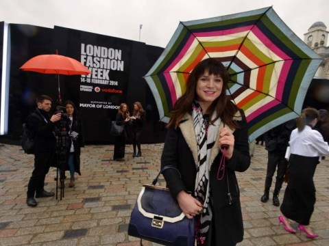 On the Frow at London Fashion Week AW14: Popcorn, cocktails and soggy socks