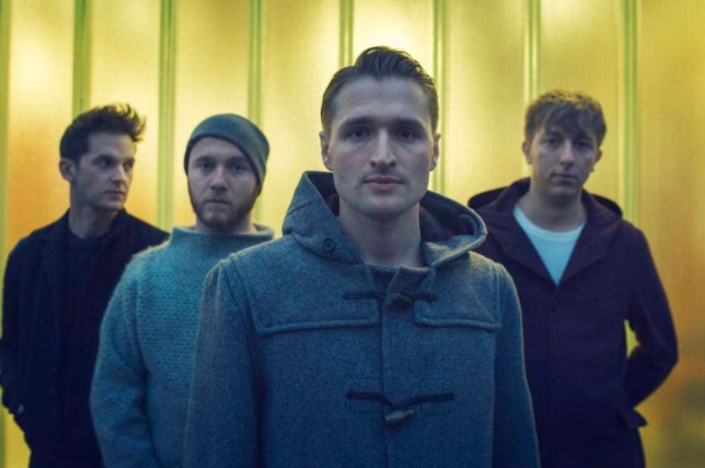 Wild Beasts from left: Ben Little, Tom Fleming, Hayden Thorpe and Chris Talbot. (Picture: Klaus Thymann