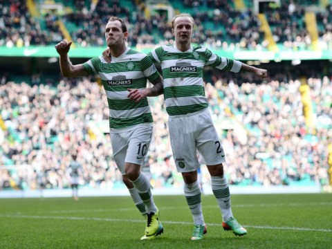 Anthony Stokes fires Celtic as Fraser Forster closes on record