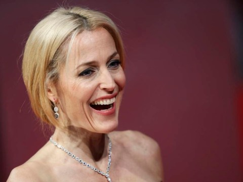 X Files star Gillian Anderson reveals the word she uses far too much – and everyone loves her for it