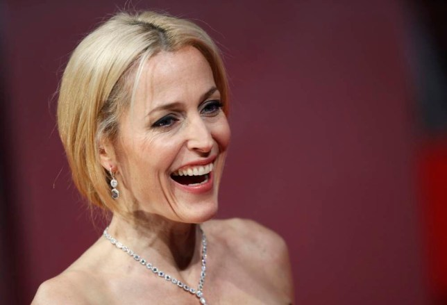 Gillian Anderson arrives at the British Academy of Film and Arts (BAFTA) awards ceremony at the Royal Opera House in London February 16, 2014. (Picture: Reuters)