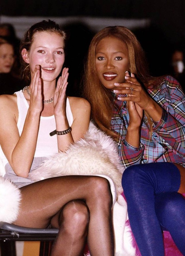 Naomi's been hinting about a reunion with her supermodel pals (Picture: Mirrorpix)