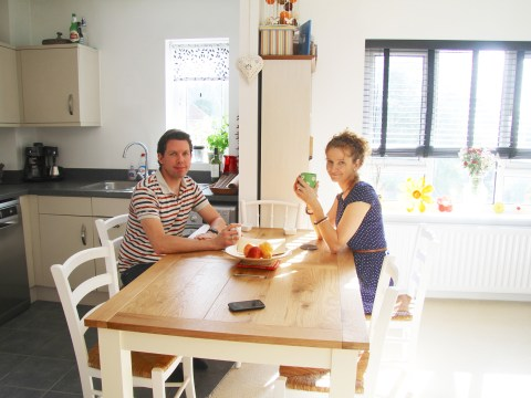 Help to Buy: One happy couple found their ideal home through Affinity Sutton