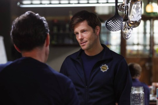 Jamie Bamber in The Smoke (Picture: Sky1)