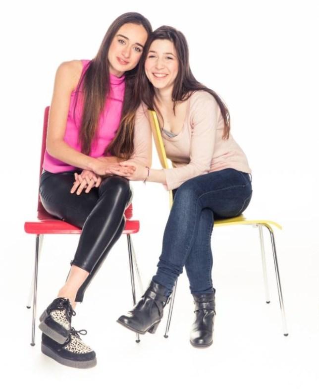 Sophia Parvizi-Wayne and Amber Van Dam want mental health awareness on the curriculum (Picture: Chris Harris)