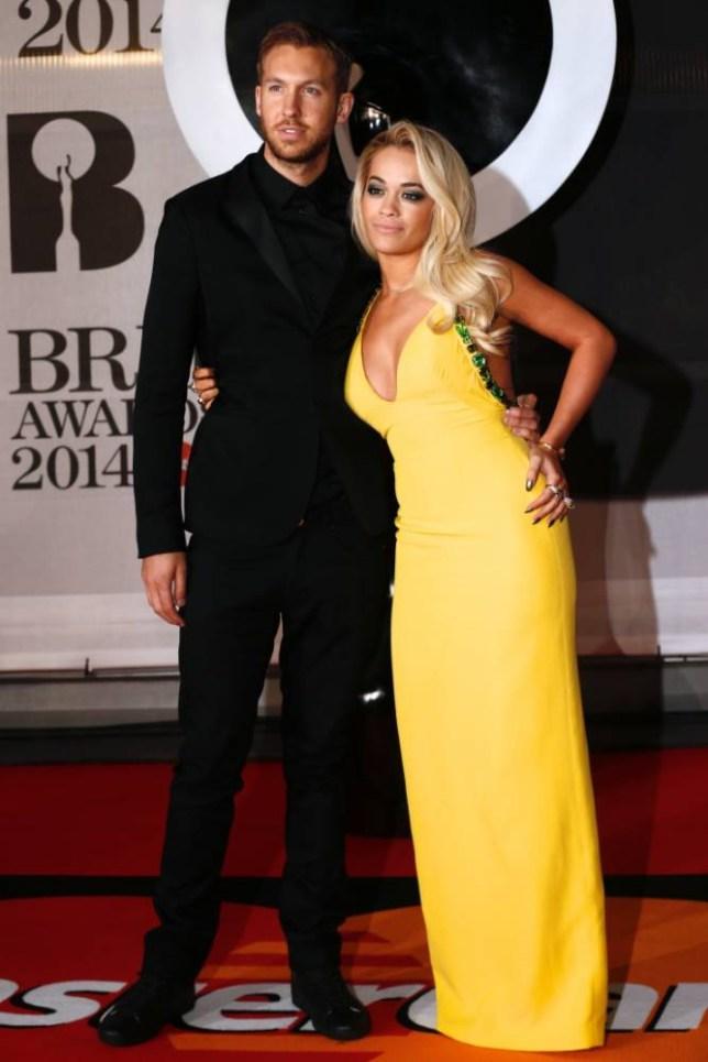 Calvin Harris and Rita Ora (Picture: AFP)