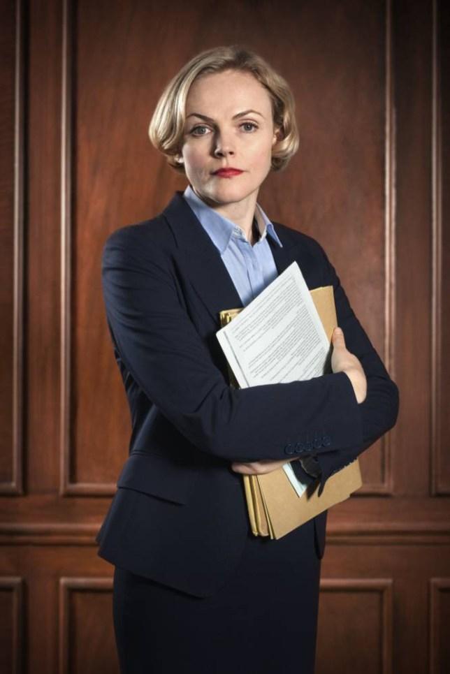 Maxine Peake as Martha Costello QC in Silk (Picture: BBC/Hal Shinnie)