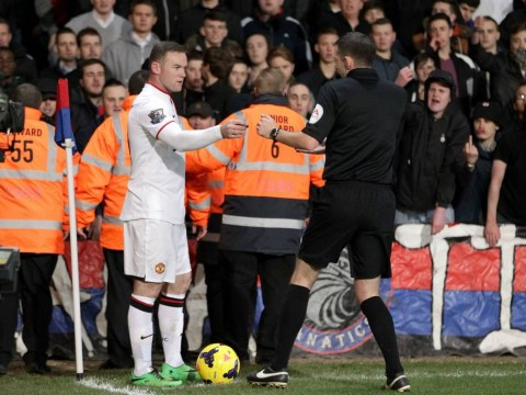 Manchester United boss David Moyes mocks Crystal Palace fans who pelted Wayne Rooney with coins