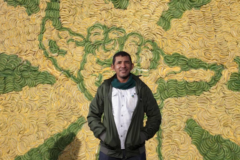 Colombian banana farmer Foncho Cantillo (Picture: David Parry/PA)